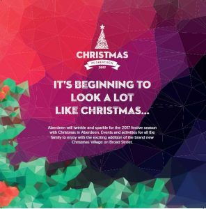 Aberdeens winter festival and christms markets
